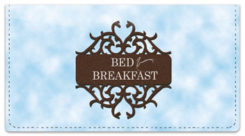 Bed & Breakfast Checkbook Cover