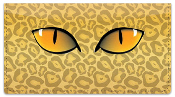 Eye See You Checkbook Cover