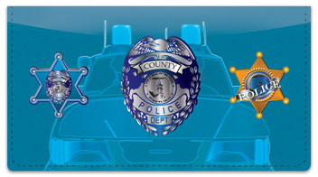 Law Enforcement Checkbook Cover