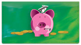 Piggy Bank Checkbook Cover