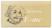 Famous Scientist Checkbook Cover
