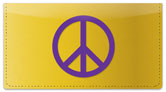 Symbols of Peace Checkbook Cover