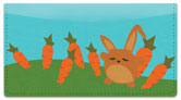 Funny Bunny Checkbook Cover