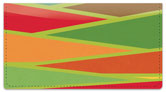 Slats of Color Checkbook Cover