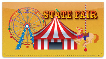 State Fair Checkbook Cover