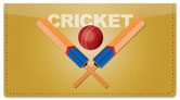Cricket Checkbook Cover