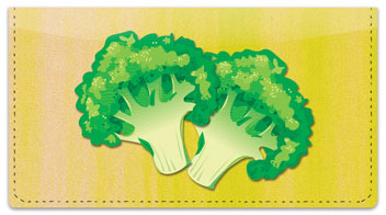 Green Veggie Checkbook Cover