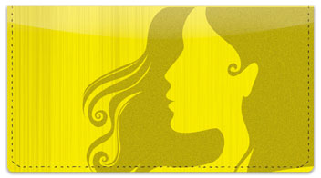 Salon Styling Checkbook Cover