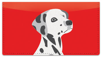 Darling Dalmatian Checkbook Cover