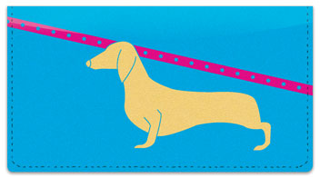 Wiener Dog Checkbook Cover