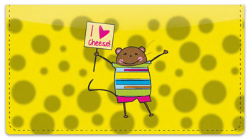 Mischievous Mice Checkbook Cover
