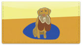 Labrador Checkbook Cover