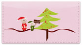 Jolly Elf Checkbook Cover