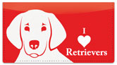 Retriever Checkbook Cover