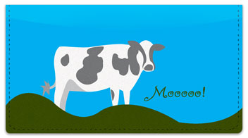 Farm Animal Checkbook Cover