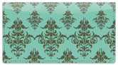 Damask Pattern Checkbook Cover