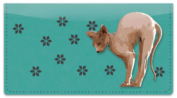 Sphynx Cat Checkbook Cover