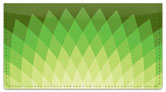 Diamond Leaf Checkbook Cover