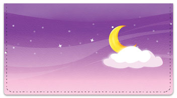 Starry Sky Checkbook Cover