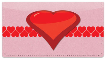 Heart Perspective Checkbook Cover