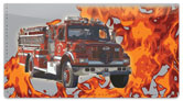 Fire Department Checkbook Cover