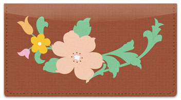 In Full Bloom Checkbook Cover