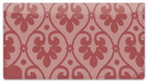 Ornate Heart Checkbook Cover