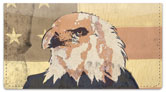Patriotic Eagle Checkbook Cover