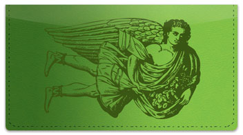 Classic Angel Checkbook Cover