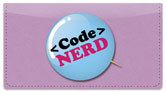 Nerd Pride Checkbook Cover