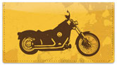 Motorcycle Mix Checkbook Cover