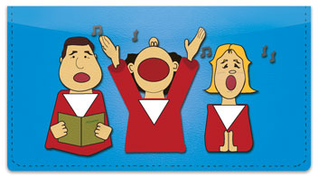 Kid Choir Checkbook Cover
