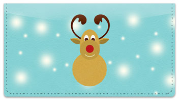 Rudolph Checkbook Cover