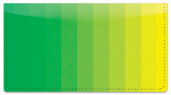 Color Change Checkbook Cover