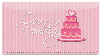 Wedding Day Checkbook Cover
