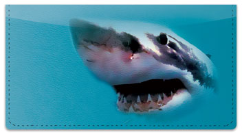 Shark Checkbook Cover