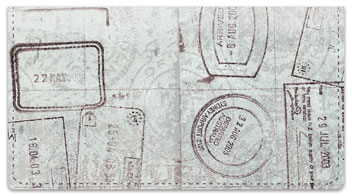 World Traveler Checkbook Cover