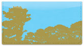 Tree Silhouette Checkbook Cover