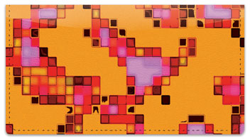 Mosaic Tile Checkbook Cover