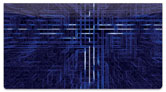 Techno Matrix Checkbook Cover