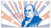 Founding Father Checkbook Cover