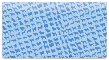 Dog Wallpaper Checkbook Cover