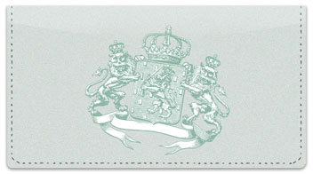 Coat of Arms Checkbook Cover
