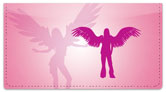 Sexy Angel Checkbook Cover