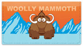 Cute Extinct Animal Checkbook Cover