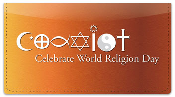 World Religion Checkbook Cover