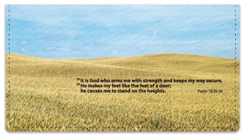 Psalm 18 Checkbook Cover