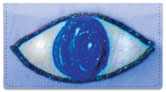 Eyes for Art Checkbook Cover