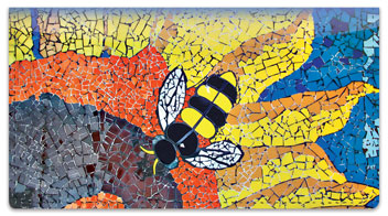 Mosaic Checkbook Cover