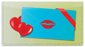 Love Letter Checkbook Cover